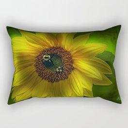 Busy Bees Rectangular Pillow