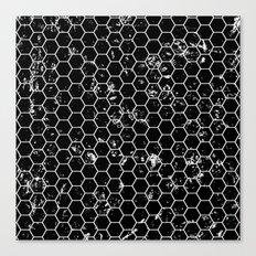Honeycomb Pattern Canvas Print