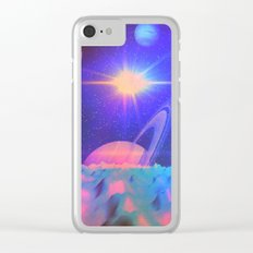 The Great Influences of the Star (Chorus) Clear iPhone Case