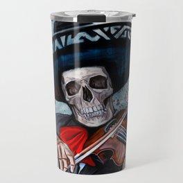 El Mariachi - Dia De Los Muertos Travel Mug