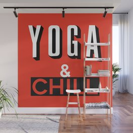 Yoga & Chill Wall Mural