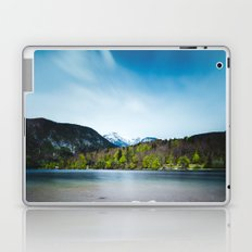 Lake Bohinj with Alps in Slovenia Laptop & iPad Skin