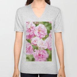 Soft wild roses II Unisex V-Neck