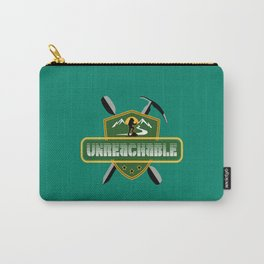 "Emblem for travelers ""Unreachable"" Carry-All Pouch"