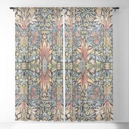 "William Morris ""Snakeshead"" Sheer Curtain"