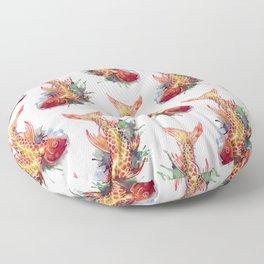 Fish Splash Floor Pillow