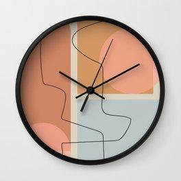 Shape study #32 Wall Clock