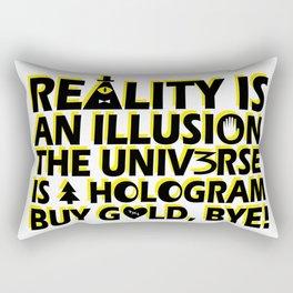 Buy Gold, Bye! Rectangular Pillow