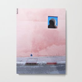 Moroccan Wall Metal Print