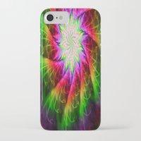 chakra iPhone & iPod Cases featuring Star Chakra by Muertorita