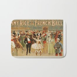 Vintage poster - Fanny Rice at the French Bath Mat
