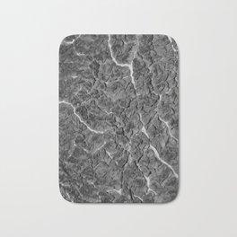 Greyscale Cabbage 1 Bath Mat