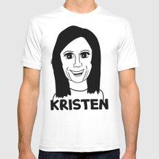 Kristen Wiig MEDIUM Mens Fitted Tee White