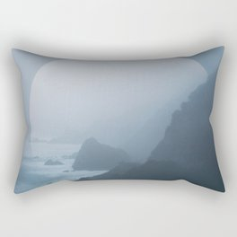 B+W New Zealand Coast II Rectangular Pillow