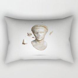 Busted Augustus Rectangular Pillow
