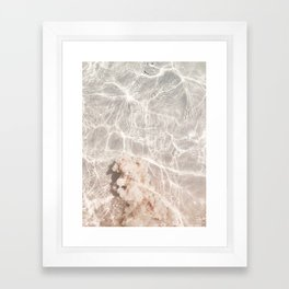 Clearly Sea Framed Art Print