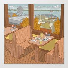 Athenian, Pike Place Market, Seattle WA Canvas Print