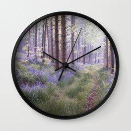 The Hidden Path Wall Clock