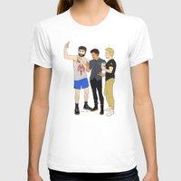 starbucks T-shirts featuring Starbucks Selfie by Plebnut