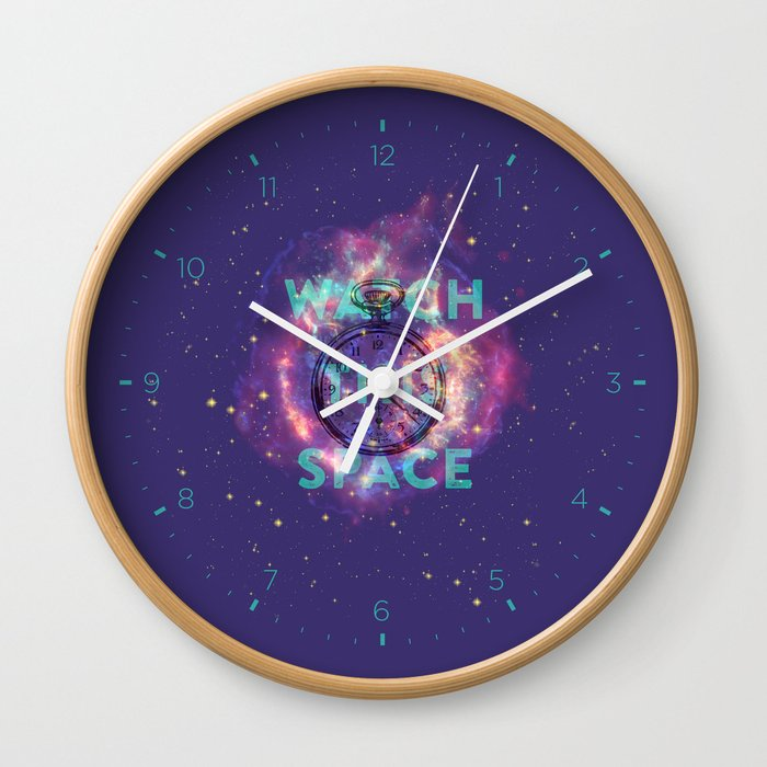 Watch this space Wall Clock