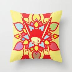 LOTUS HOLIC Throw Pillow