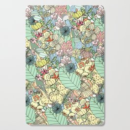 Nature Bloom Pattern Cutting Board