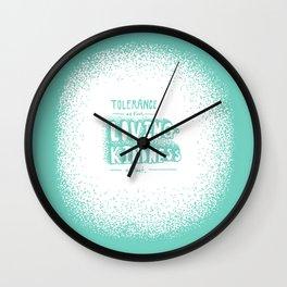 Lovingkindness Wall Clock