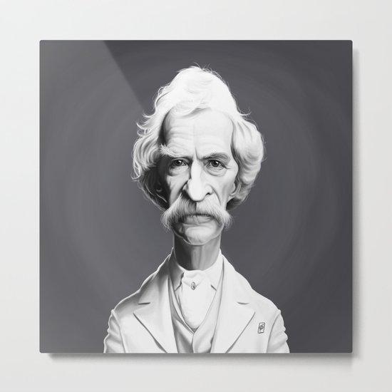 Mark Twain Metal Print