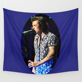 You Look So Good in Blue Wall Tapestry