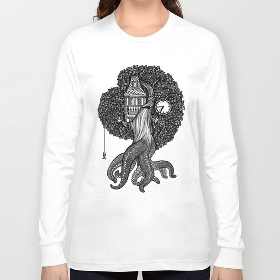 Octotree Long Sleeve T-shirt