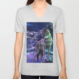 The Way of the Wolf Unisex V-Neck