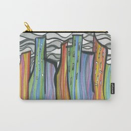 Dancing City Carry-All Pouch