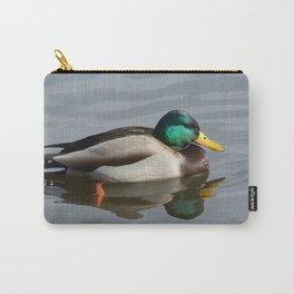 Mallard Duck Drake Carry-All Pouch