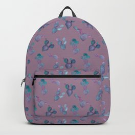 Purple Cactus Backpack