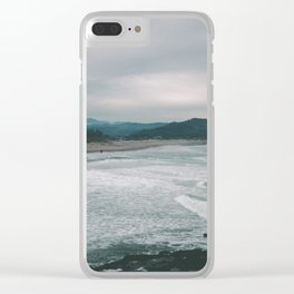 Cape Kiwanda III Clear iPhone Case