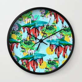 We are their cure Wall Clock