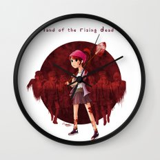 Land of the Rising Dead Wall Clock