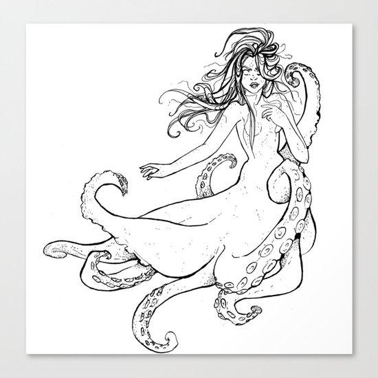 Seawitch Canvas Print