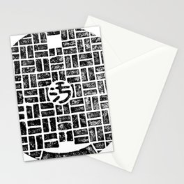Traditional Manhole Cover From Beijing Stationery Cards