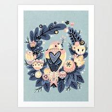 Sweetie Bird Art Print