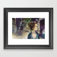 Chick Framed Art Print