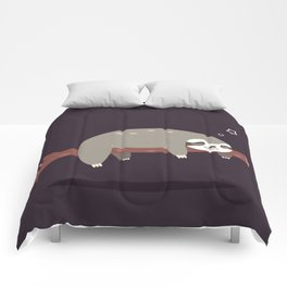 Sloth card - good night Comforters