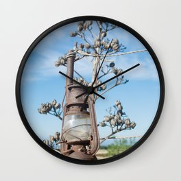 old lamp oil Wall Clock