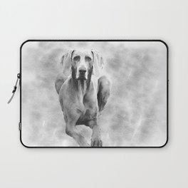 MR TEE THE WEIMARANER Laptop Sleeve