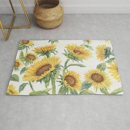 Blooming Sunflowers Rug