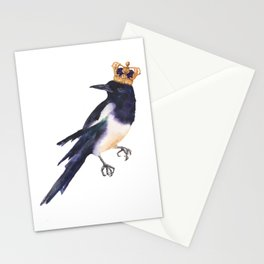 Magpie Monarch Stationery Cards