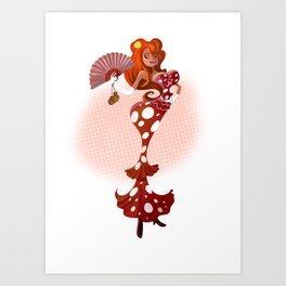 Pin up Art Print