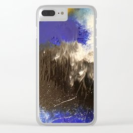 Twisted Calico Two Clear iPhone Case