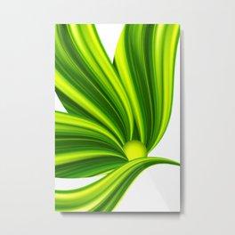 Abstract green 209 Metal Print