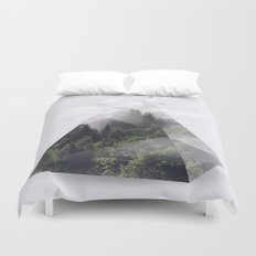 Forest triangle Duvet Cover
